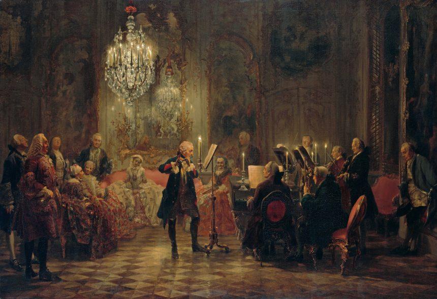 Ein König und seine Musik